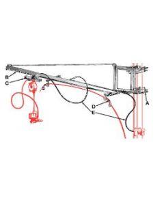 JN-15 Jib Crane for Tool Suspension PN 084165