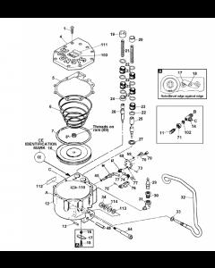 PRHR-114 Pneumatic Push Type Combination Tool PN 423570